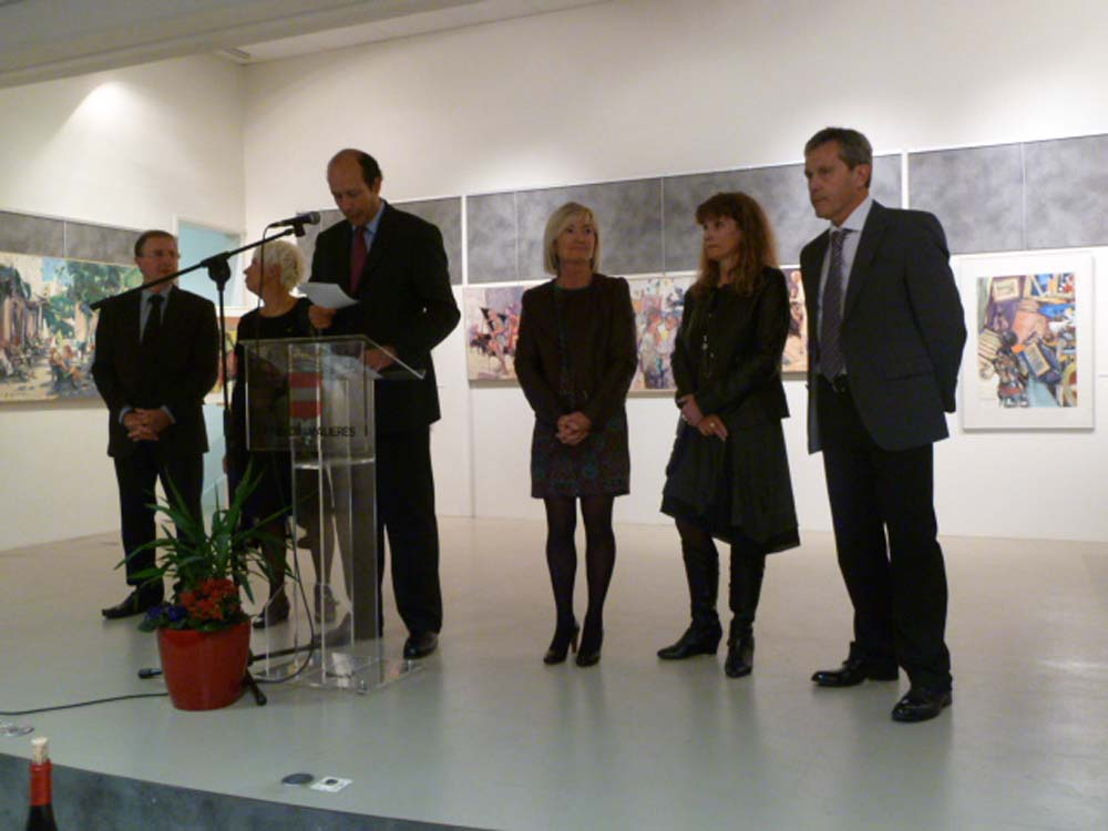 Invité d'honneur à Chamalières 2012
