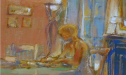 Scene d'interieur 46 X 56