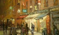 Paris nocturne 71 X 62