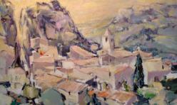 Village des Baux 130 X 97