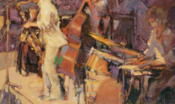 Quartet jazz n.2 81 X 65