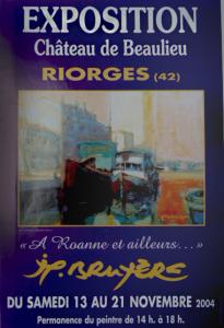A Roanne et ailleurs... Exposition personnelle