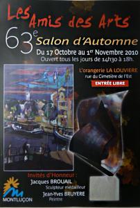 63ème Salon d'Automne, les Amis des Arts