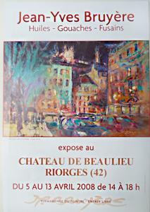Exposition personnelle au Château de Beaulieu