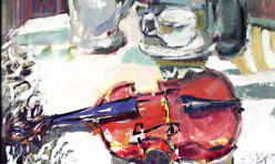 Violon n.1 76 X 98