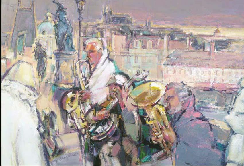 Bridge's Band à Pragues.118X83