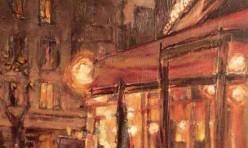 Café nocturne parisien
