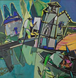 Peintres à Magné - 85x85