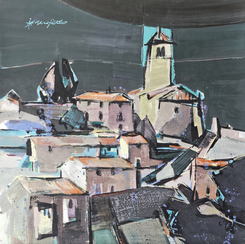 St Georges, Thizy - 77x77
