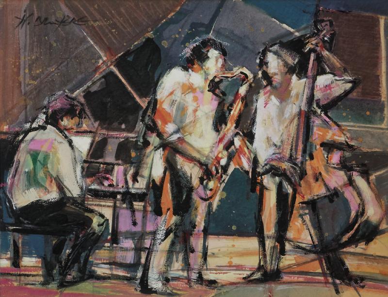 Trio Jazz - 45x55